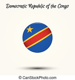 Flag of Democratic Republic of the Congo icon