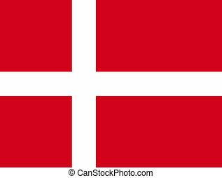 Flag of Denmark - Denmark flag