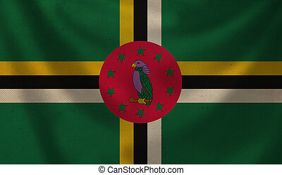 Flag of Dominica.