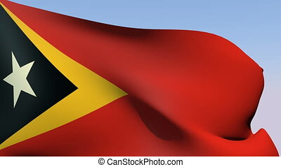 Flag of East Timor - Flags of the world collection - East...