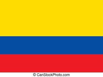 Flag of Ecuador Vector illustration