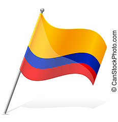 flag of Ecuador vector illustration