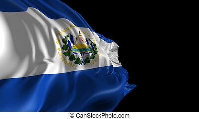 Flag of El Salvador - Beautiful 3d animation of El Salvador...