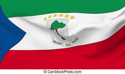 Flag of Equatorial Guinea - Flag of the Equatorial Guinea...