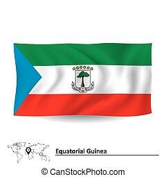 Flag of Equatorial Guinea - vector illustration