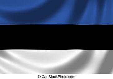 Flag of Estonia