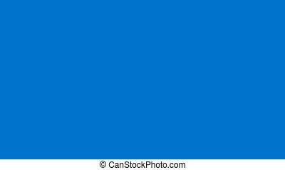 Flag of Estonia - Drawing Estonian Flag by Brush Strokes