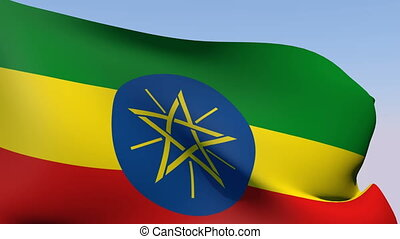Flag of Ethiopia - Flags of the world collection - Ethiopia