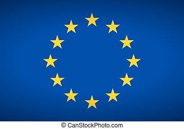 Flag of Europe.