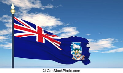 Flag Of Falkland Islands