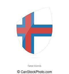 Flag of Faroe Islands.