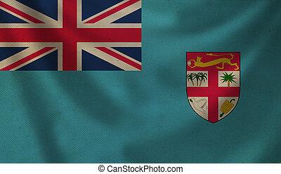 Flag of Fiji.