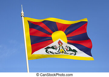 Flag of Free Tibet