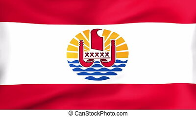 Flag Of French Polynesia - Developing the flag of French...
