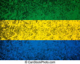 Flag of Gabon.