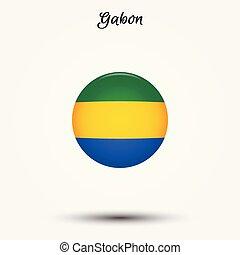 Flag of Gabon icon