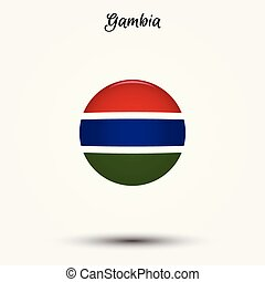 Flag of Gambia icon