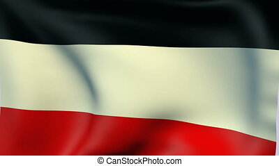 Flag of German Empire 1871-1918 - Flags of the world...