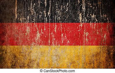 Flag of Germany - Grange textured flag of Germany