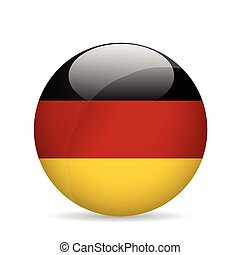 Flag of Germany. Vector illustration.