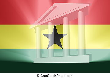 Flag of Ghana government - Flag of Ghana , national country...