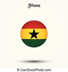 Flag of Ghana icon