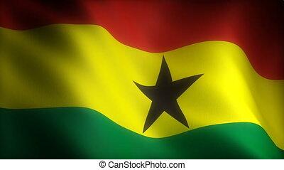 Flag of Ghana (seamless)