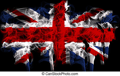 flag of great britain, uk - graphic with the flag of great...
