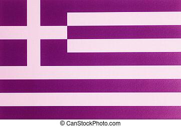 Flag of Greece.