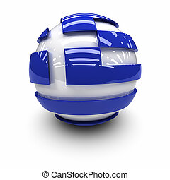 Flag of Greece - 3D  - Flag of Greece