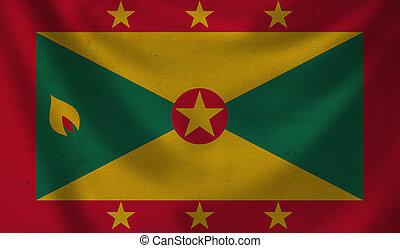 Flag of Grenada.