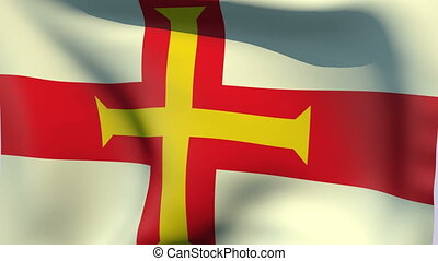 Flag of Guernsey - Flags of the world collection - Guernsey
