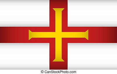 Flag of Guernsey.