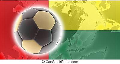 Flag of Guinea Bissau soccer - Flag of Guinea Bissau, ...
