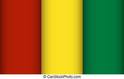 Flag of Guinea.