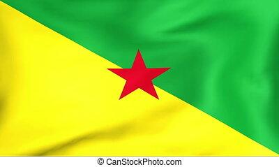 Flag Of Guyane