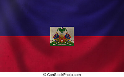 Flag of Haiti.