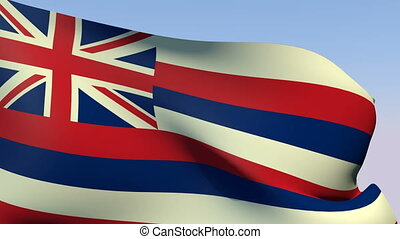 Flag of Hawaii - Flags of the world collection - Hawaii
