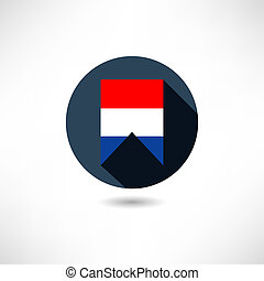 Flag of Holland icon