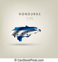 Flag of HONDURAS as a country