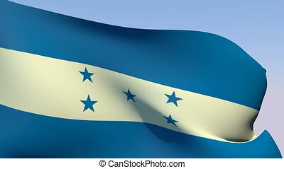 Flag of Honduras - Flags of the world collection - Honduras
