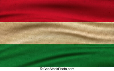 Flag of Hungary.