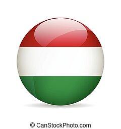 Flag of Hungary. Vector illustration.
