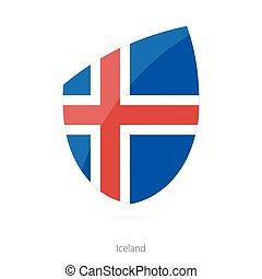 Flag of Iceland.