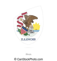 Flag of Illinois.