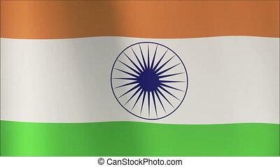 Flag of India (seamless)