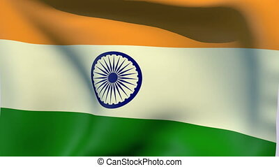 Flag of India - Flags of the world collection - India