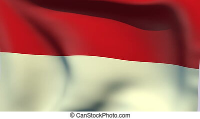 Flag of Indonesia - Flags of the world collection -...