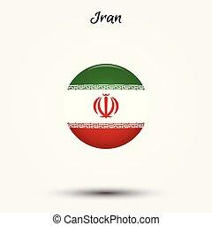 Flag of Iran icon