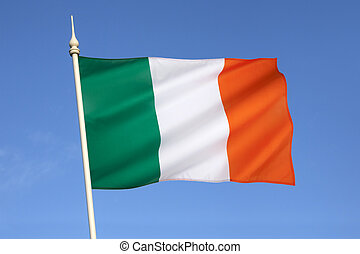 Flag of Ireland - The national flag of Ireland – frequently ...